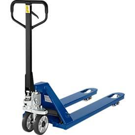 Vorkhefwagen, draagvermogen 2000 kg,blauw