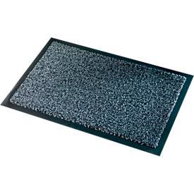 Vuilvangmat Premium, B 600 x L 900 mm, gemaakt van polyamide, grijs, met een dikte van 600 x L 900 mm.