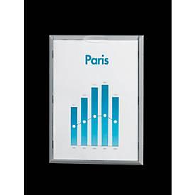 Wandhouder info-display, alukleur, 4 st.