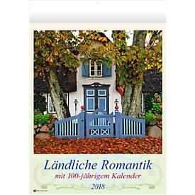 Wandkalender Ländliche Romantik, deutsch