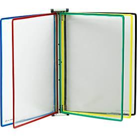 Wandsichttafelsystem, magnetisch, DIN A4, 5 Tafeln