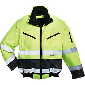 Warnschutz-Pilotjacke, gelb