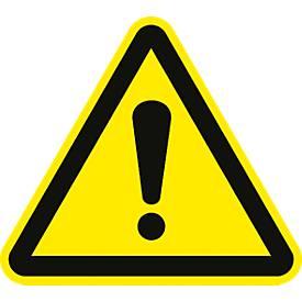 """Warnzeichen """"Warnung vor einer Gefahrenstelle"""""""
