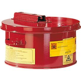 Wasch- und Tauchbehälter PREMIUM LINE, aus Stahlblech, 4, 8 oder 30 Liter Inhalt