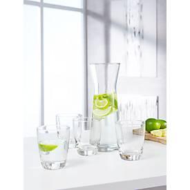 Wasserkaraffen Trinkgläser Set Roselle, 5-teilig