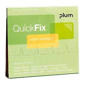 Waterafstotende pleisters navulpak voor QuickFix
