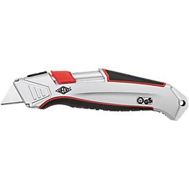Wedo Automatisch veiligheidsmes  ALU, voor rechts-/linkshandige gebruikers, met vervangend mes