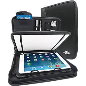 WEDO Tablet-Organizer ELEGANCE, DIN A5, Kunstleder/Nylon, mit Schreibblock