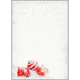 Weihnachts-Motiv-Papier Winter Flair, DIN A4, beidseitig bedruckbar, 100 Blatt