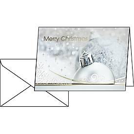 """Weihnachtskarte """"Brilliance"""", 10 Stück"""