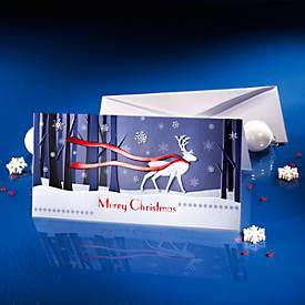 """Weihnachtskarte """"Winter?s Eve"""", 10 Stück"""