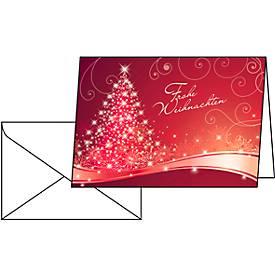 Weihnachtskarten Christmas Swing, Glanzkarton, ...