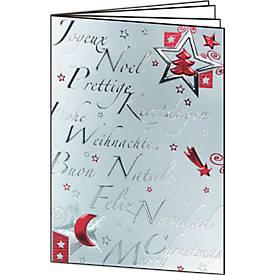 """Weihnachtskarten """"Silver Star"""""""