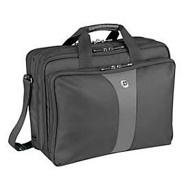 """Wenger Laptopkoffer Legacy, mit 3 aufgesetzten Taschen, für bis zu 17"""" Laptops"""