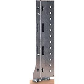Werkbank-Aufbautensystem, Stützen-Paar, 1010 x 120 x 60 mm