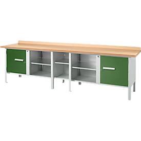 Werkbank PW 300-1 groen