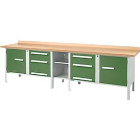 Werkbank PW 300-2, grün