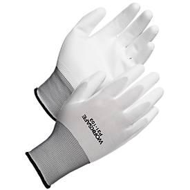 Werkhandschoenen Bedrijfsveilig P31-103, CE Cat 2, Polyester/PU, maat 9, 12 paar.