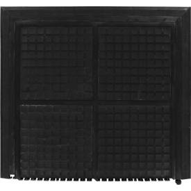 Werkplaatsmat 4210 Hog Heaven II linkable - Black Border - end, 1000 x 1100 mm