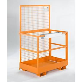 Werkplatform MB-D, oranje RAL 2000