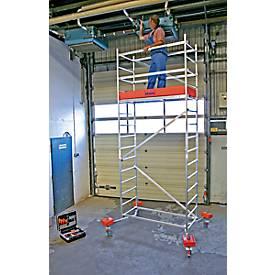 Werksteiger Clim Tec, 1e opzetunit