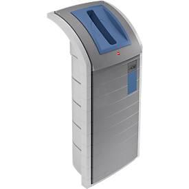 Wertstoffbehälter ProfiLine WSB 120 l, fernblau (RAL5023)