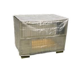Wetterfeste Abdeckhaube für Gitterbox, ohne Reißverschluss