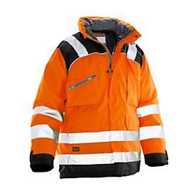 Winter Parka orange/schwarz 3XL