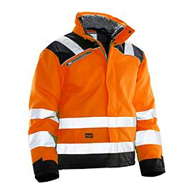 Winterjacke orange/schwarz 3XL