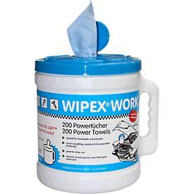 WIPEX Big-Grip Spender Work, nachfüllbar, Spender + Wischtuchrolle o. Nachfüllpack