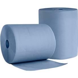 WIPEX Putzpapier BlueTech, 2- oder 3-lagig, universell einsetzbar, 2 Rollen