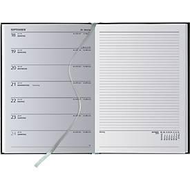 Wochenplaner Delta Line, inkl. 1c-Druck und allen Grundkosten, Format 145 x 205 mm