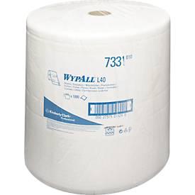 WYPALL* Wischtuch L-30 ULTRA Großrolle, aus Airflexmaterial, 750 Tücher, 3-lagig, weiß
