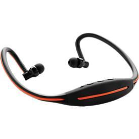 XD-Design LED Sport-Kopfhörer, mit Bluetooth 4.2, Reichweite 10 m, f. mehr Sicherheit