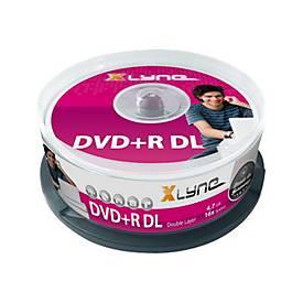 xlyne - DVD+R DL x 25 - 8.5 GB - Speichermedium