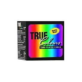 Zebra TrueColours - Schwarz, Gelb, Cyan, Magenta, durchsichtig - Farbband