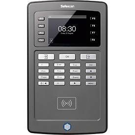 Zeiterfassungssystem SAFESCAN TA-8010 inklusive Verwaltungssoftware