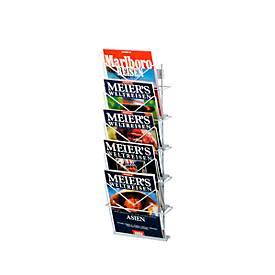 Zeitschriftenhalter, versch. Höhen