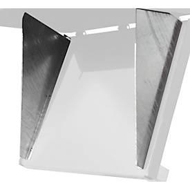 Zentrierwand, für Klappbodenbehälter FB 500 + 750, verzinkt