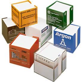 Zettelbox Standard, Kunststoff, 780 Blatt, glasklar