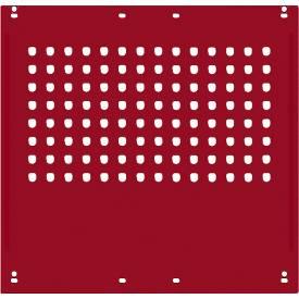 Zijpaneel, f. Werktafels Universele Special/Ergo, f. Diepte 800 mm, B 592 x H 628, robijnrood RAL 3003