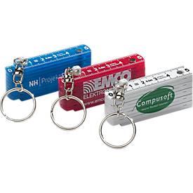 Zollstock Schlüsselanhänger, 50 cm, Kunststoff