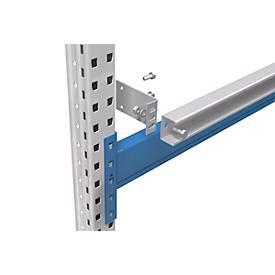 Zubehör für Durchschubsicherungen bei Einzelregal PR600 - f. Rahmentiefe 1.100 mm