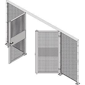 Zweiflügeltür, B 2000 x H 2070 mm