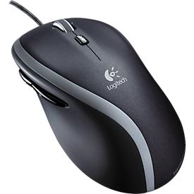 Logitech M500s Advanced bedrade muis, 7 knoppen, bedraad, USB, optisch