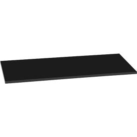 195970 - legbord voor openkastsysteem AURA, B 410 x D 410 mm, zwart