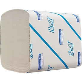 250 enkele vellen toilettissue papieren doekjes van SCOTT®, 36 pakken