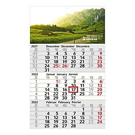 3-Monats-Kalender, Standard, Standard, Auswahl Werbeanbringung erforderlich