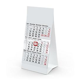 3-Monatskalender, Standard, Auswahl Werbeanbringung optional