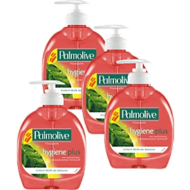 3x vloeibare zeep Palmolive HygienePlus, 300 ml + 1 gratis